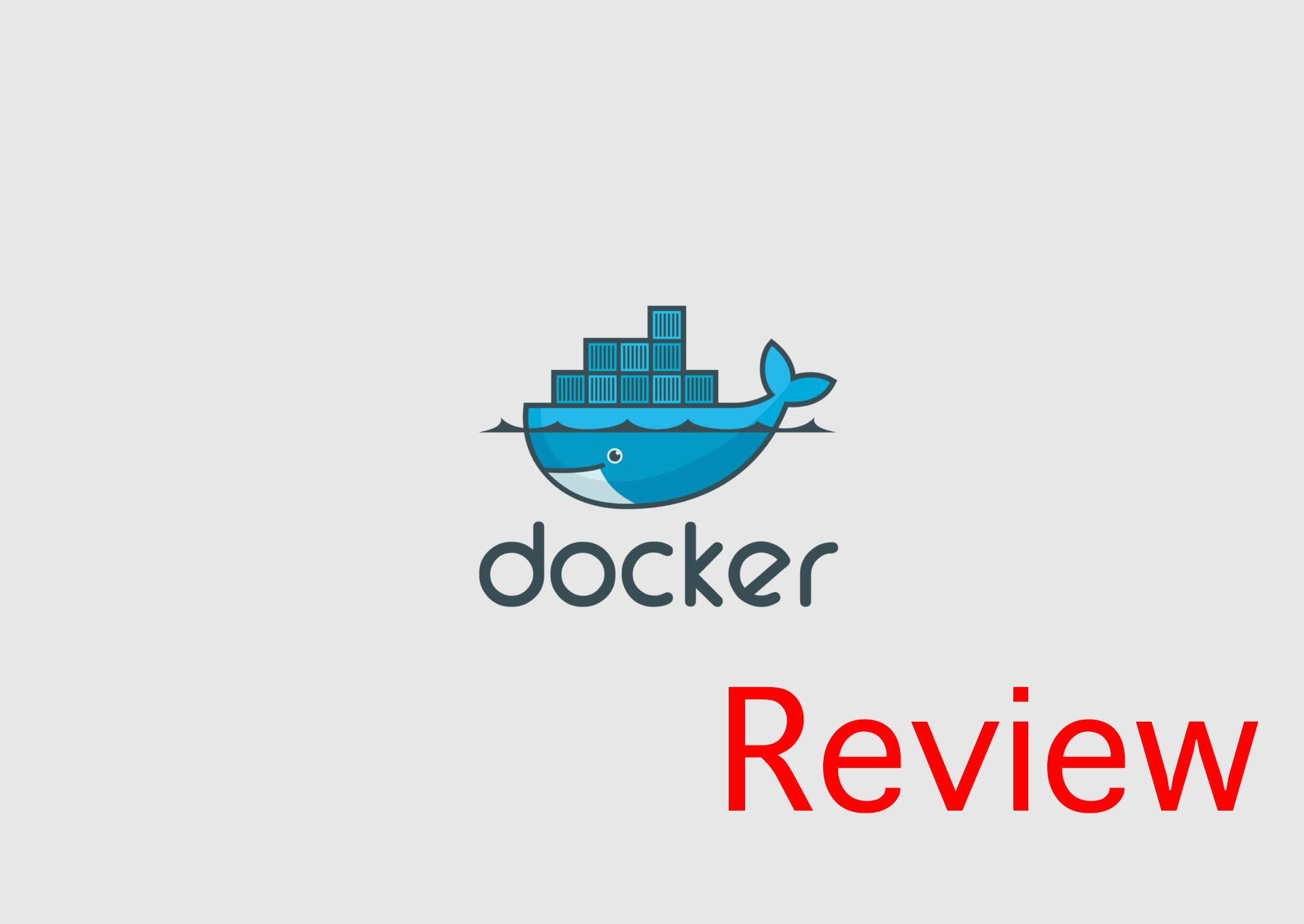 Why use docker? (Review)
